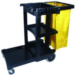 RCP617388 Janitorial Cart
