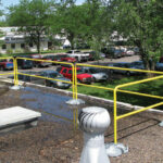 7900061 6' Guardrail Section Powder Coated