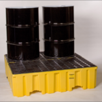 1640 4 Drum Containment Pallet with Drain