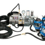 9210-03 Three Worker Full Mask Low Pressure System