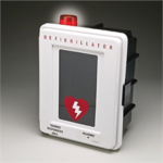 4400-DS Plastic Defibrillator Wall Case with Strobe