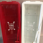 FT20PW White FireTech Cabinet 20LB