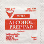 155818 Alcohol Wipes